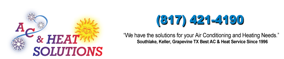 Let us install your Air Conditioner in Southlake TX!